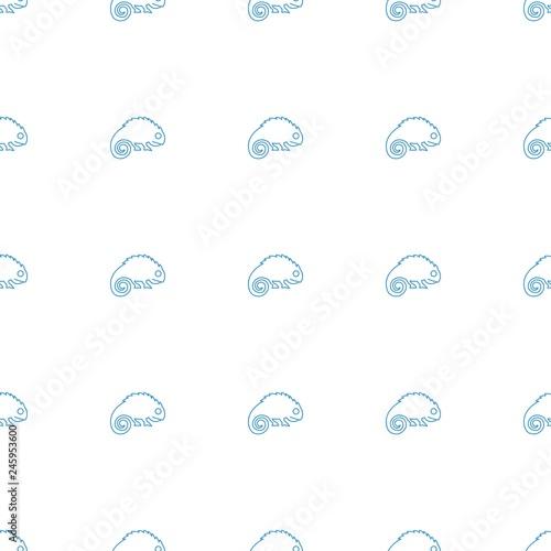 chameleon icon pattern seamless white background