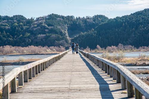 橋を渡るカップル - 245964647