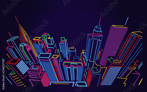 New York City Skyline - 246037497