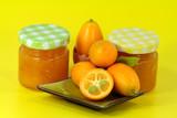 fresh homemade kumquat jam
