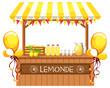 A wooden lemonade shop - 246061235