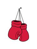 aufgeben aufräumen nagel hängen beenden boxer handschuh boxhandschuh sport boxen ring kickboxer kämpfer kampf winter spaß team verein gewinner clipart - 246063830