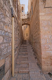 Secluded Walkway in an Old City