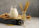 oat vegetable milk, lactose free - 246083499