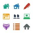 9 site icons - 246083893