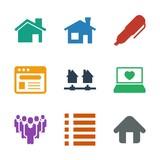 9 site icons