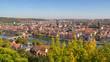 Leinwanddruck Bild - Wuerzburg in Bavaria