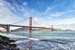 Golden Gate Bridge San Francisco Ocean Shoreline