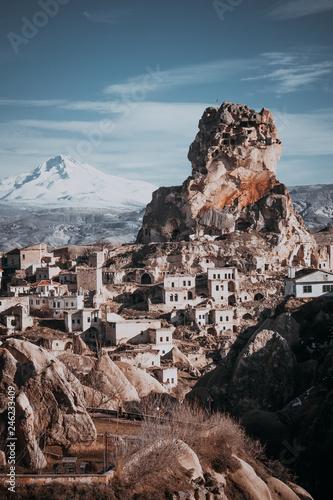 Ortahisar is a small town in Ürgüp district of Nevşehir Province, in Cappadocia, Turkey.