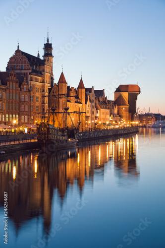 obraz lub plakat Gdansk at Night