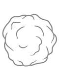 kugel schnee ball fussel rund kreis design clipart comic cartoon bollen kalt winter rollen cool