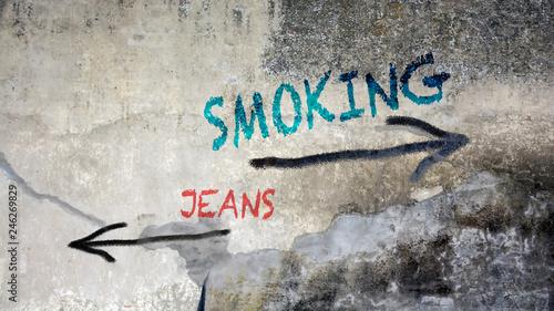 Schild 391 - Smoking