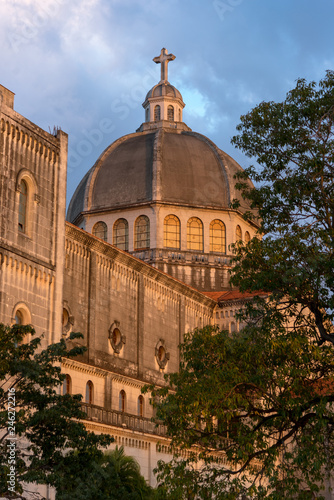 Church of Jesus de Miramar in Romanesque-Byzantine style is the second largest church on the island. Havana. Cuba