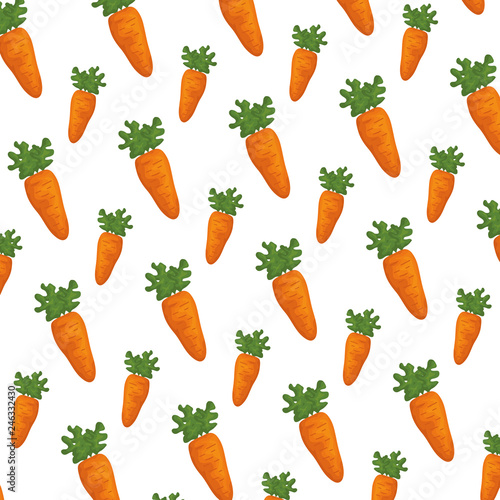 carrots fresh pattern background © Gstudio Group