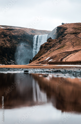 Skógafoss in Island - 246339861