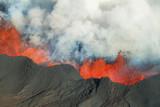 Bardarbunga volcano eruption in Iceland