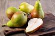 Leinwanddruck Bild - Pears