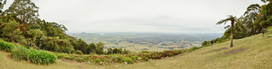 Mountain top panorama © tawunap159
