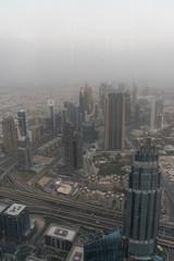 Dubai city burj khalifa view, united arabic emirates