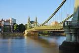 Hammersmith Bridge in London