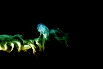Smoke design as wallpaper