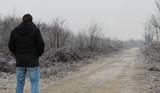 passeggiata in inverno al freddo ed al gelo - 246572657