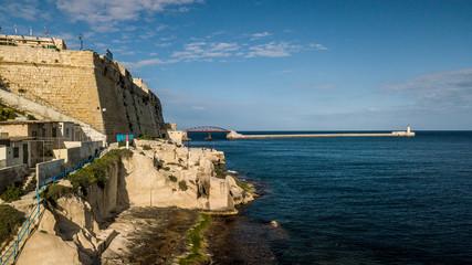 Malta z drona © Piotr