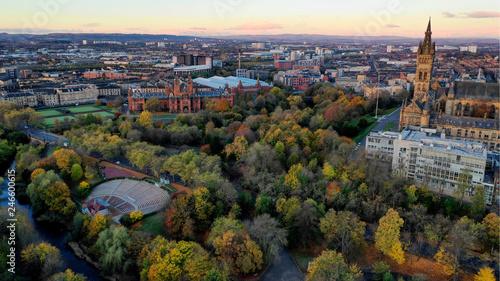 Glasgow Kelvingrove park - 246600615