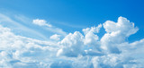Sky and white cloud panorama abstract of nature background