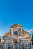 Basilica of Santa Maria Novella in Florence, Italy