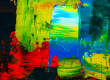"""Постер, картина, фотообои """"abstraction art oil paints canvas painting grunge color background"""""""