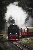 Dampflok - Eisenbahn (Lok) frontal