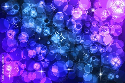 Purple defocused bokeh pattern wallpaper. - 246683474