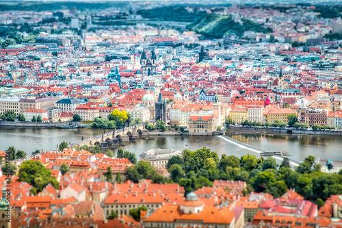 prague - charles bridge - city center - czech republic - praha