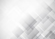 Abstract technology white and gray color modern background design, White geometric texture. Vector Illustration - 246710094