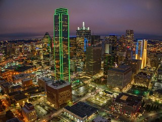 Dallas is a major American City in the State of Texas