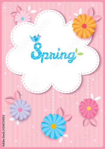 spring-flower-template - 246734053