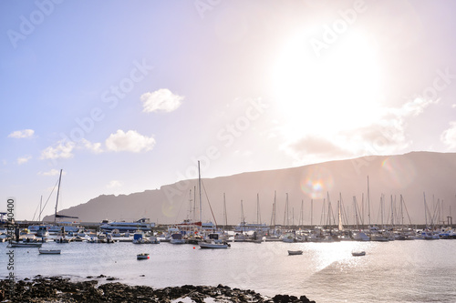 Landscape in Tropical Volcanic Canary Islands Spain - 246740400