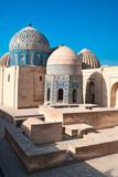 Shahi-Zinda necropolis in Samarkand, Uzbekistan