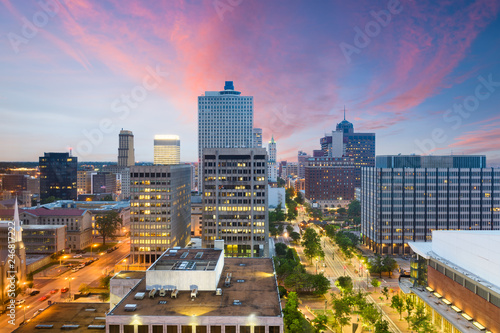 Memphis, Tennessee, USA downtown city