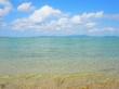 透き通った海、沖縄県小浜島