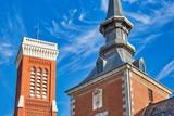 Madrid, Santa Cruz Palace buildings in historic city center - 246879416