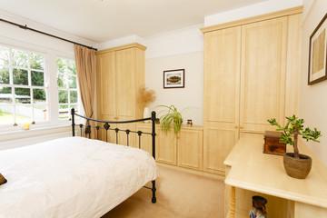Modern neutral bedroom furniture