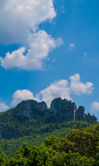 Seneca Rocks, West Virginia © Richard
