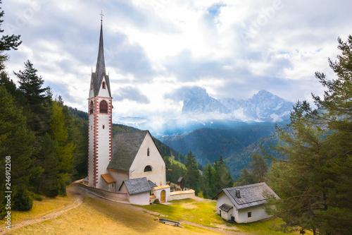 Beautiful view of St Jacob's church