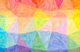 Abstract illustration of orange, purple Large Color Variation Impasto background