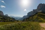 Passo Gardena, Val Gardena, Groeden, Bolzano, Trentino Alto Adige, Italia