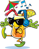 cocktail mascot - 246960820