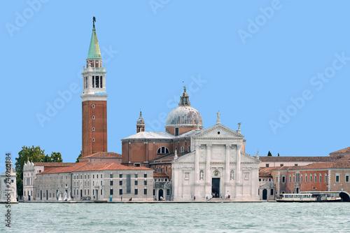 Island of San Giorgio Maggiore in Venice - Italy.