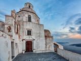Santorini church